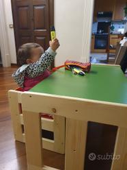 Montessori Cube Tavolino E Sedia Per Bambini Tutto Per I Bambini In Vendita A Lecco