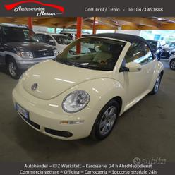 VW New Beetle 1.6 Cabrio 102 PS