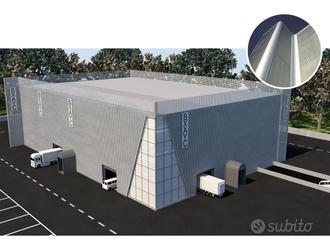 Porzione di 210mq in nuovo capannone bipiano