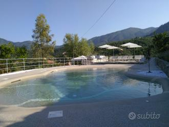 Monolocale con giardino e uso piscina (2 pers)