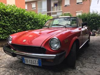 Fiat 124 spider 2000 america Pininfarina
