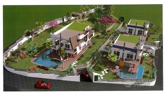 Ville con piscina in costruzione ad Agropoli