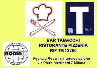 Bar tabacchi ristorante pizzeria (rif T/013260)