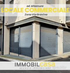 Zona Via Gravina Locale Commerciale RIF. V.L. 09