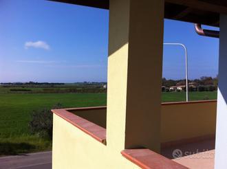 Capalbio - Borgo Carige: Trilocale duplex con giar