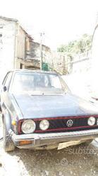 VOLKSWAGEN Golf 1ª serie cabrio 1982