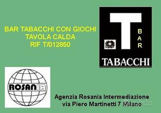 Bar tabacchi tavola calda (rif T/012850)