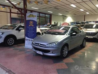 Peugeot 206 1.6 hdi cabriolet coupe'
