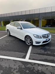 Mercedes benz C220 cdi coupe AMG