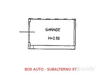 Box auto seminterrato (sub 97)