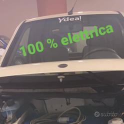 Minicar 100%elettrica ztl guida 14 anni