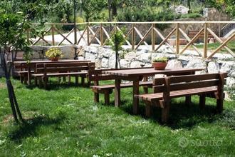 Casa Vacanza con area picnic, camino e piscina