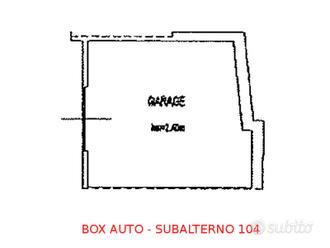 Box auto seminterrato (sub 104)