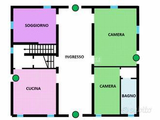 Villa Indipendente con grande cortile privato.
