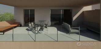 Nuovo quadrilocale con ampi terrazzi