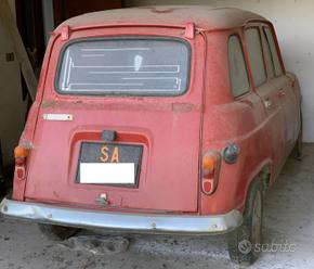 Renault 4 L versione rara 1975 auto epoca storica