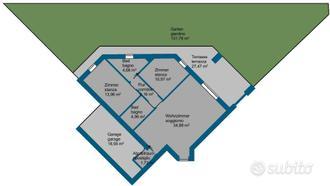 Nuovo appartamento con giardino in posizione tranq