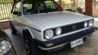 VOLKSWAGEN Golf Cabrio ASI