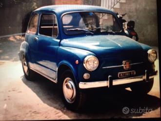 Fiat 600 D fanalona 1968
