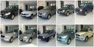 Diverse disponibilità di auto 4x4
