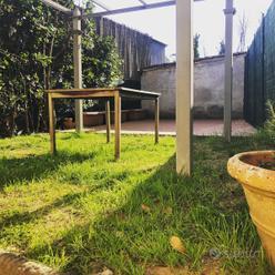 Villetta a schiera con giardino e poss. di box