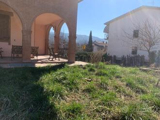 Porzione di casa con 500 metri di giardino