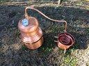 Distillatore In Rame, da 10 lt. Alambicco