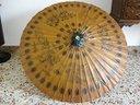 Ombrello parasole cinese antico