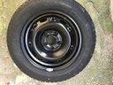VW Cerchio in ferro e gomma NUOVI R14