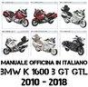 Manuale Officinia BMW K 1600 B GT GTL 2010 - 2018