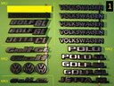Scritte auto VW,BMW,Ford,Opel,Rover,Volvo,Saab