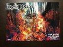 Poster heavy metal vari gruppi iron maiden slayer