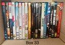 (Box 33 - 34) film dvd ex-noleggio