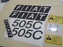 Adesivi trattore FIAT 505C