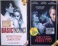 MICHAEL DOUGLAS: Basic Instinct e Delitto Perfetto