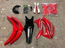 Plastiche ricambi motocross Honda CRF / Yamaha YZF