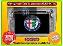 Navigatore car tablet Alfa Mito 2008-2018 wifi gps