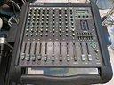 MIXER AUDIO POWER CASE 12 CH Amplificato