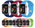 Cinturino per Apple Watch silicone 42mm vari color