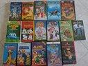 16 videocassette VHS (disney e altro)