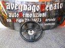 VW PASSAT 3c 2005-10 Volante in Pelle Nero