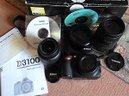 Nikon d3100 (3587 scatti) + 2 ottiche