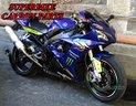 Yamaha r1 2002 2003 pedini radiali ricavati cnc