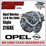 motore-opel-meriva-1-6-b-05-sigla-z16xe