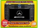 Autoradio Navigatore ANDROID|iOS per Mercedes