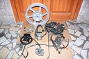 Cerchio Posteriore Ricambi SH 300 ABS 07-10 1serie