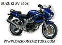 Ricambi Suzuki sv 650 1999 2002