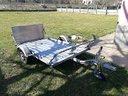 Carrello trasporto moto/quad/sgomberi