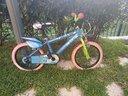 """Bici 16"""" + casco super Pigiamini"""