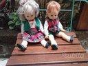 Coppia bambole tirolesi